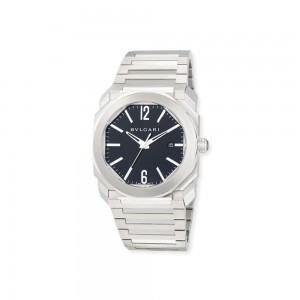 BVLGARI 41mm Stainless Steel Octo Solotempo Watch