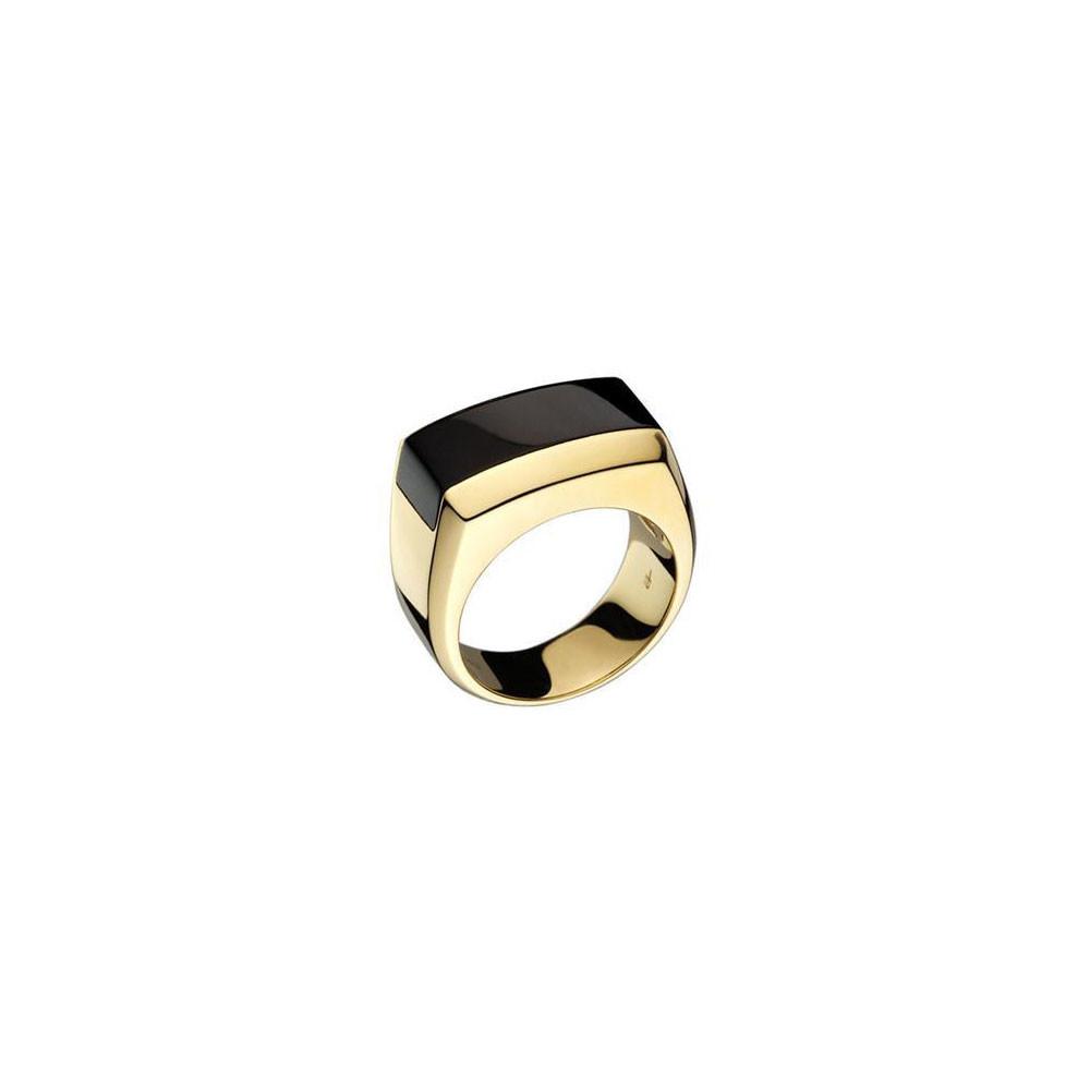 Di Modolo -Men's Falco Gold & Black Onyx Ring