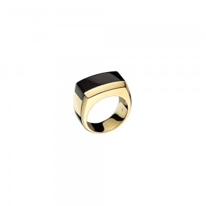 Di Modolo -Men's Falco Gold & Black Onyx Ring