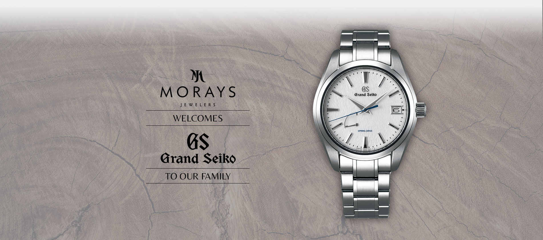 Morays welcomes Grand Seiko to the family